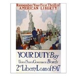 Buy US Government Bonds Small Poster