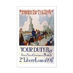 Buy US Government Bonds Mini Poster Print