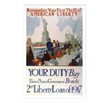 Buy US Government Bonds Postcards (Package of 8)