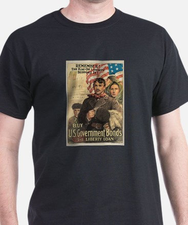 Remember the Flag of Liberty T-Shirt