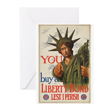You! Buy Liberty Bonds Greeting Cards (Pk of 10)