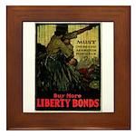 Buy More Liberty Bonds Framed Tile