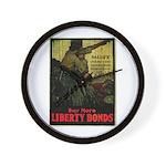 Buy More Liberty Bonds Wall Clock