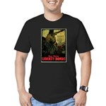 Buy More Liberty Bonds Men's Fitted T-Shirt (dark)