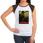Buy More Liberty Bonds Women's Cap Sleeve T-Shirt