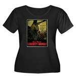 Buy More Liberty Bonds Women's Plus Size Scoop Nec