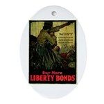 Buy More Liberty Bonds Ornament (Oval)