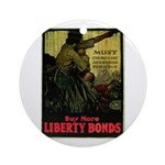 Buy More Liberty Bonds Ornament (Round)