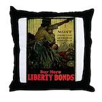 Buy More Liberty Bonds Throw Pillow