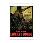 Buy More Liberty Bonds Mini Poster Print