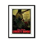 Buy More Liberty Bonds Framed Panel Print