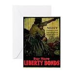 Buy More Liberty Bonds Greeting Card