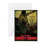 Buy More Liberty Bonds Greeting Cards (Pk of 10)