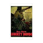 Buy More Liberty Bonds Sticker (Rectangle)