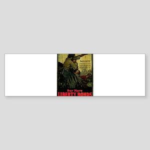 Buy More Liberty Bonds Sticker (Bumper)