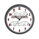 WIGM Multi Car Logo Wall Clock