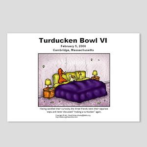 Turducken Bowl VI Postcards (Package of 8)