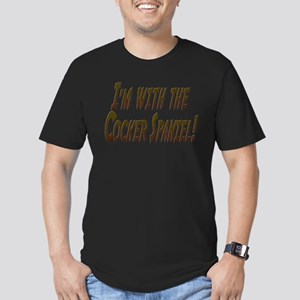 I'M WITH THE... Men's Fitted T-Shirt (dark)