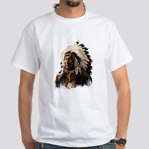 Native American WL #2 White T-Shirt
