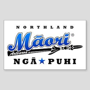 Nga Puhi_Northland_Maori_blue Sticker