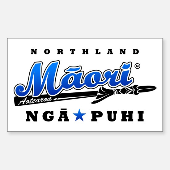 Nga Puhi_Northland_Maori_blue Decal
