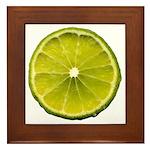 Lime Framed Tile