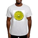 Lime Ash Grey T-Shirt