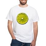 Lime White T-Shirt