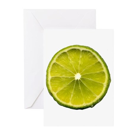 Lime Greeting Cards (Pk of 10)