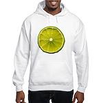 Lime Hooded Sweatshirt