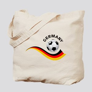 Soccer GERMANY Ball Tote Bag
