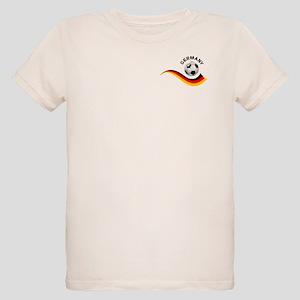 Soccer GERMANY Ball Organic Kids T-Shirt
