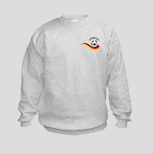 Soccer GERMANY Ball Kids Sweatshirt