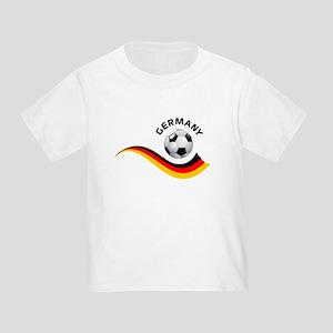 Soccer GERMANY Ball Toddler T-Shirt