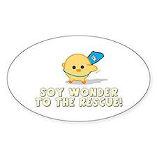 Soy Wonder Sticker (Oval)