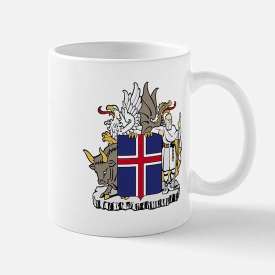 Iceland Coat of Arms Emblem Mug