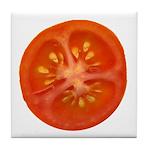 Grape Tomato Tile Coaster
