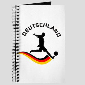 Soccer DEUTSCHLAND Player Journal