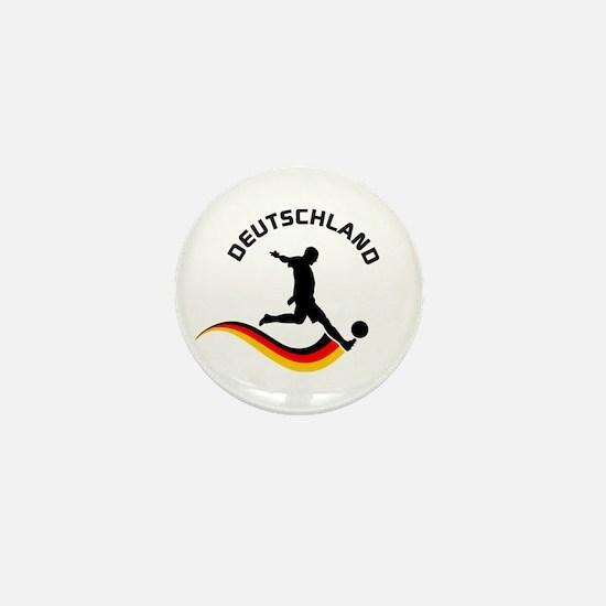 Soccer DEUTSCHLAND Player Mini Button