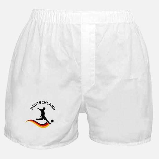 Soccer DEUTSCHLAND Player Boxer Shorts