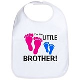 Baby brother big sister Cotton Bibs