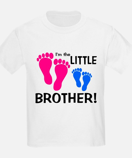 Little Brother Baby Footprint T-Shirt