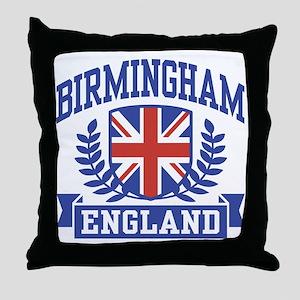 Birmingham England Throw Pillow