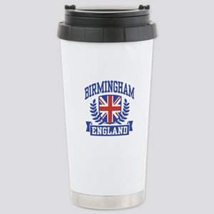 Birmingham England Stainless Steel Travel Mug
