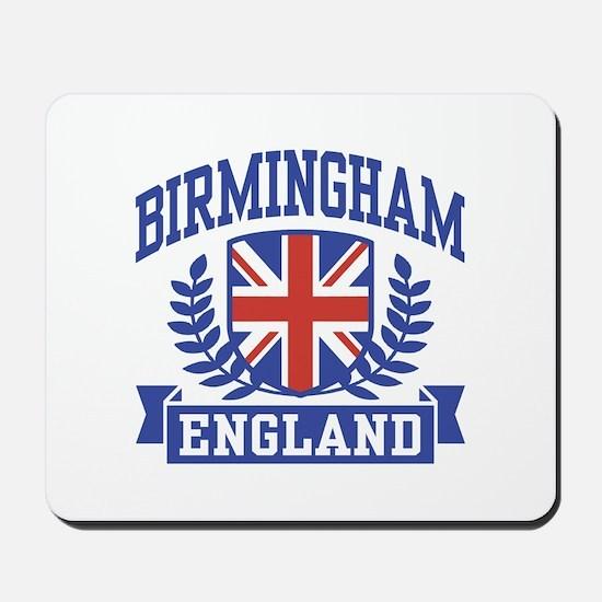 Birmingham England Mousepad