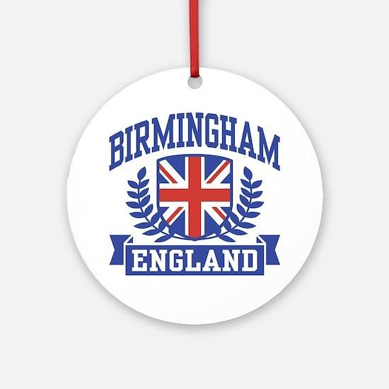 Birmingham England Ornament (Round)