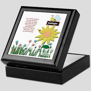 Keepsake Box for Granddaughter