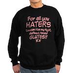 Kiss my Glutes Sweatshirt (dark)