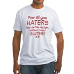 Kiss my Glutes Fitted T-Shirt
