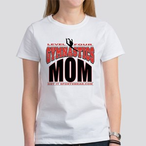 Gymnastics Level 4 Mom Women's T-Shirt
